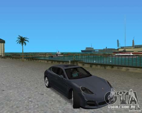 Porsche Panamera para GTA Vice City deixou vista