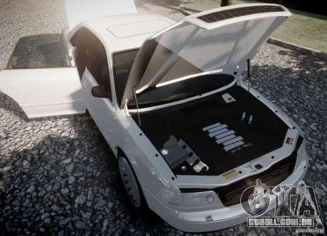 Audi A8 2000 para GTA 4 traseira esquerda vista