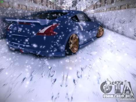 Nissan 370z para GTA San Andreas esquerda vista
