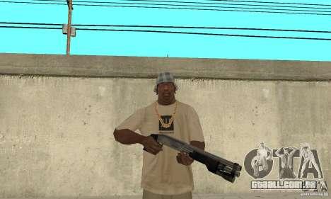 Forças especiais de espingarda para GTA San Andreas