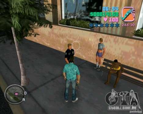 Tiras de roupa nova para GTA Vice City por diante tela
