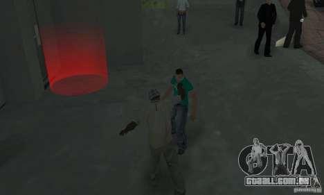 Rua lutando v2 para GTA San Andreas terceira tela