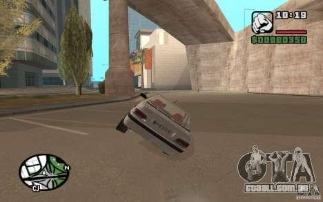 Peugeot 406 Persia para GTA San Andreas vista direita