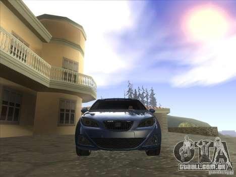 Seat Ibiza 2008 para GTA San Andreas vista traseira