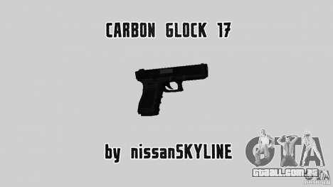 Carbon Glock 17 para GTA San Andreas