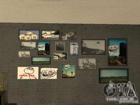 Bar de merda Sim para GTA San Andreas