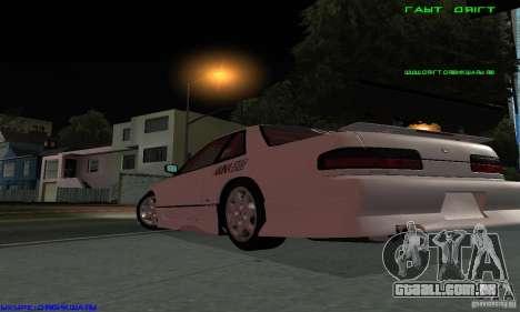 Nissan Silvia S13 Tunable para o motor de GTA San Andreas