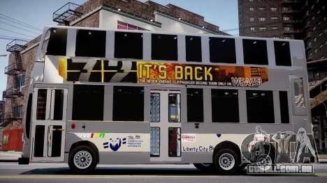 HKBUS Q SIZE para GTA 4 vista de volta