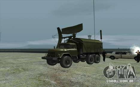 ZIL-131 RSP-7 para GTA San Andreas