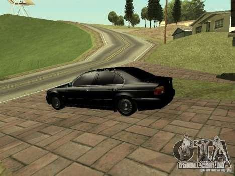 BMW M5 para GTA San Andreas vista direita