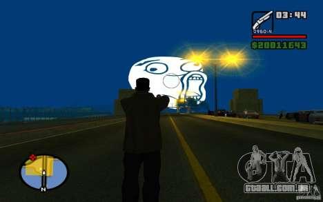 Lol Guy no céu para GTA San Andreas segunda tela