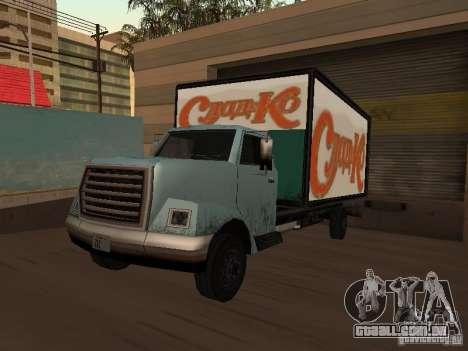 Yankee RUS para GTA San Andreas traseira esquerda vista