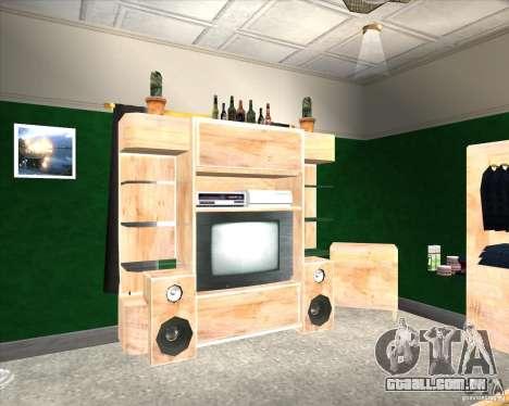 New Interior of CJs House para GTA San Andreas segunda tela