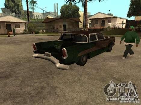 OceanicShit para GTA San Andreas traseira esquerda vista