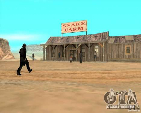 Cowboy duelo v 2.0 para GTA San Andreas terceira tela