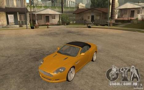 Aston Martin DB9 Volante para GTA San Andreas