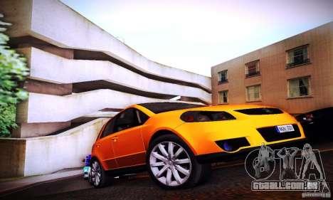 Suzuki SX4 Sportback Black 2011 para GTA San Andreas vista direita