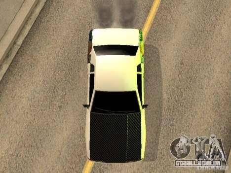 Elegia por Foresto_O para GTA San Andreas vista traseira