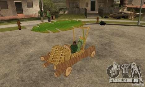 New Police Madagascar para GTA San Andreas
