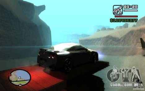ENBSeries By Gasilovo para GTA San Andreas quinto tela