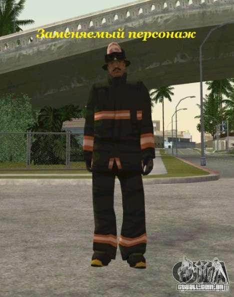 Peles de STALKER para GTA San Andreas por diante tela
