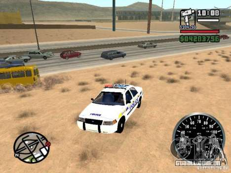 Ford Crown Victoria Police para GTA San Andreas