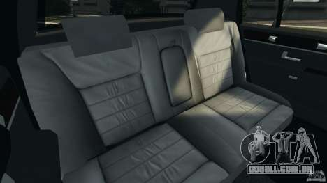 Lincoln Town Car 2006 v1.0 para GTA 4 vista lateral