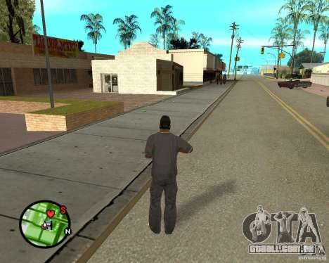Police On Radar para GTA San Andreas por diante tela