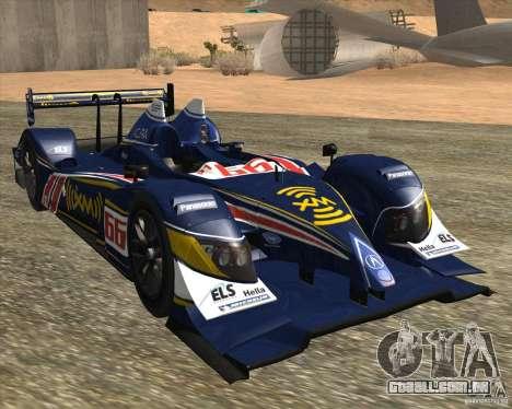 Acura ARX LMP1 para GTA San Andreas esquerda vista