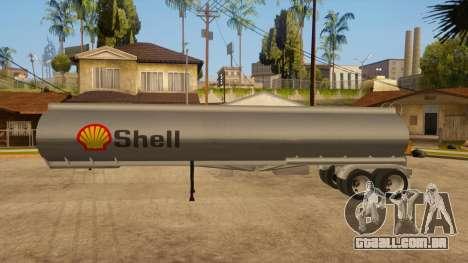 Tanque semi-reboque para GTA San Andreas