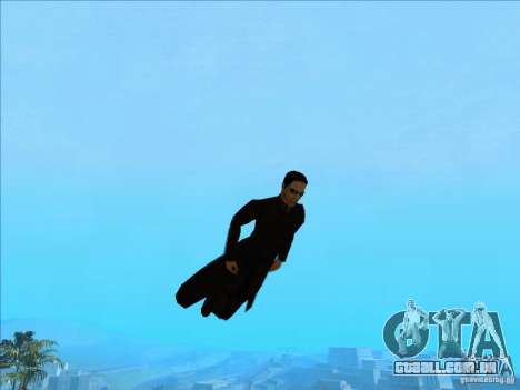 Matrix Skin Pack para GTA San Andreas décimo tela