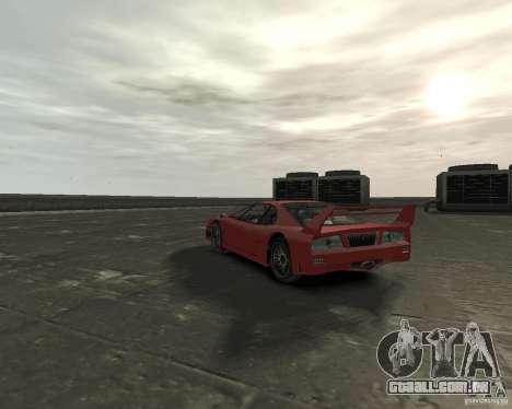 Turismo from GTA SA para GTA 4 traseira esquerda vista