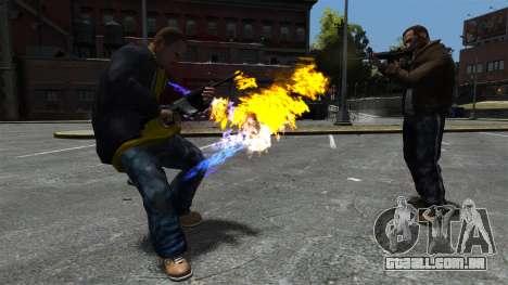 Balas de fogo para GTA 4