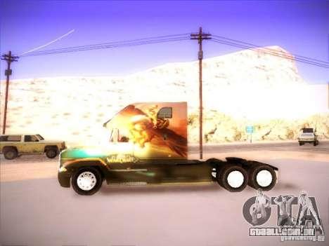 Mack Vision para GTA San Andreas vista direita