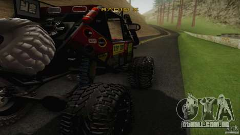 Buggy Off Road 4X4 para GTA San Andreas esquerda vista