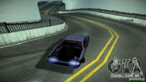 Elegy by LeM para GTA San Andreas traseira esquerda vista