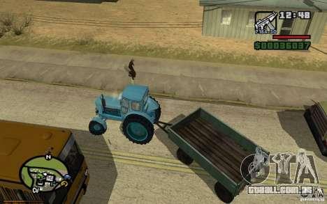 Painel ativo v. 3.2 (b) para GTA San Andreas por diante tela
