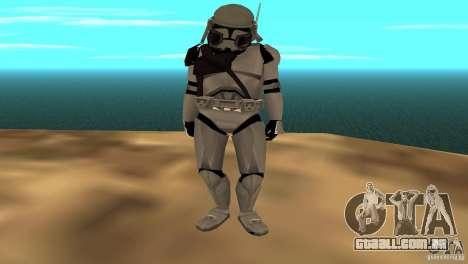 Commander Bacara para GTA San Andreas terceira tela