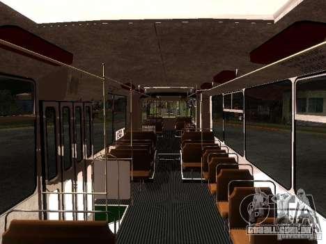 ZiU 683 para GTA San Andreas vista interior