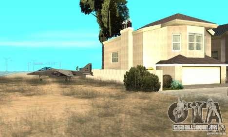 Guerra aérea para GTA San Andreas