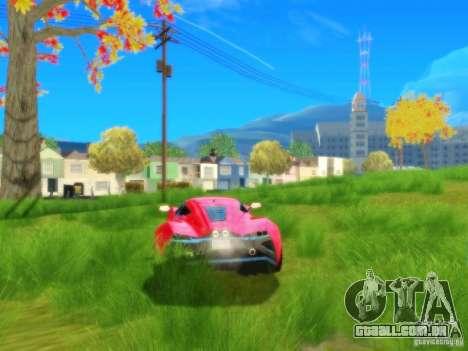 ENBSeries v1.3 para GTA San Andreas quinto tela