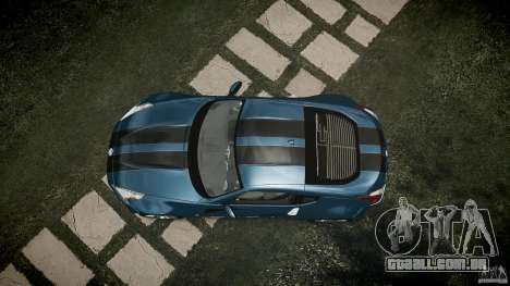 Nissan 370Z Coupe 2010 para GTA 4 vista direita