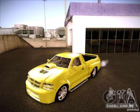 Dodge Dakota tuning para GTA San Andreas