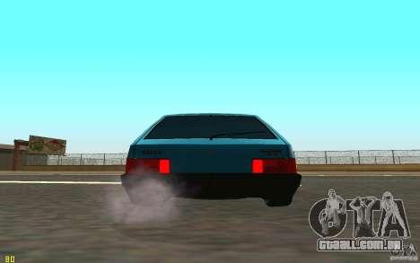 VAZ 2108 para GTA San Andreas vista direita