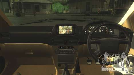 Toyota Corolla G6 Compact E110 JP para GTA San Andreas vista interior