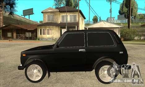 VAZ 21213 NIVA matizado para GTA San Andreas esquerda vista
