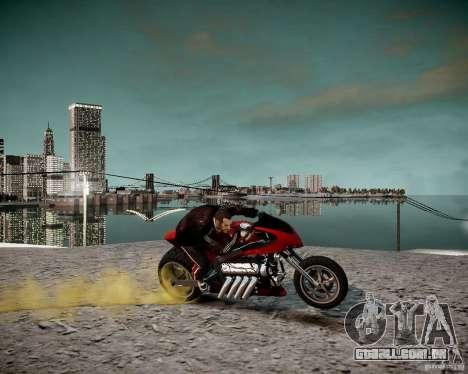 Drag Bike para GTA 4 vista direita
