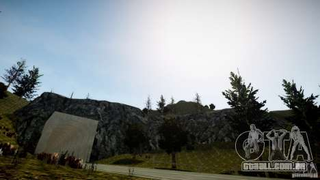 GhostPeakMountain para GTA 4 terceira tela