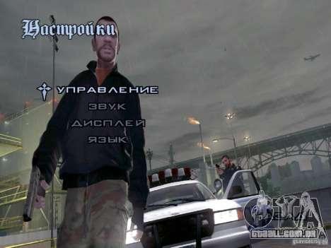 Menu como em GTA IV para GTA San Andreas terceira tela