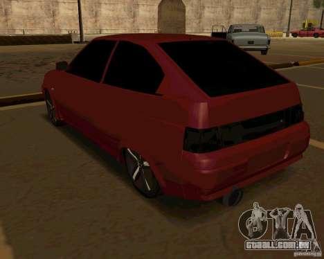 LADA 2112 Coupe, v. 2 para GTA San Andreas vista direita